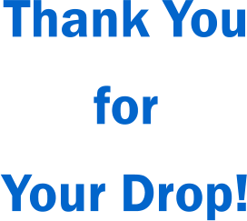 Thank You for Your Drop!